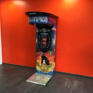 Boxautomat mieten bei Arena der Wunder