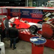 Formel 1-Rennsimulator für Events