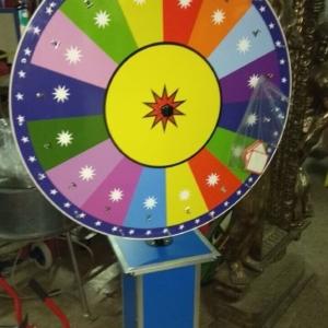 Glückrad Deluxe 100 cm Durchmesser