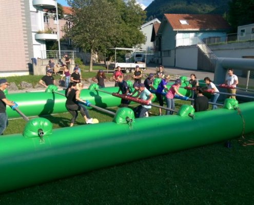 Human Table Soccer mieten