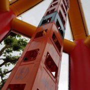 Kistenklettern Turm
